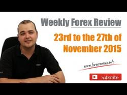 Binary Option Tutorials - forex series Weekly Forex Review - 23rd to the 2