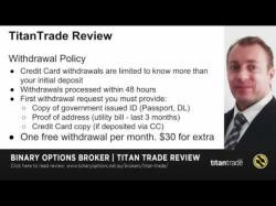 Binary Option Tutorials - TitanTrade Strategy Titan Trade Binary Options Review -