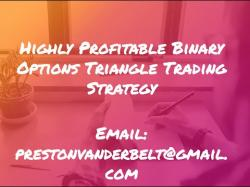 Binary Option Tutorials - 10Trade Strategy Binary Options Triangle Trading Str