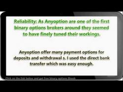 Binary Option Tutorials - OptionTime Strategy Choosing a binary options broker an