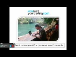 Binary Option Tutorials - trader interviews New client interview - Quitting his