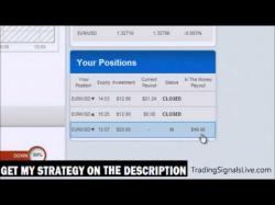 Pair options trading strategy