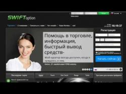 Binary Option Tutorials - SwiftOption Strategy Брокер Swift Option - Нов�
