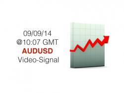 Binary Option Tutorials - GMT Options Video Course AUDUSD, H1 Time-Frame, 09/09/14 @10