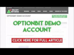Optionbit free demo account binary