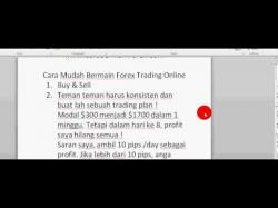 Cara main forex demo